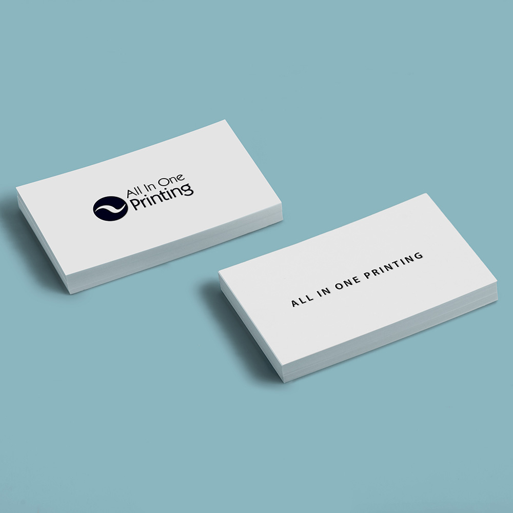 Round Edge Business Cards | All in One Printing